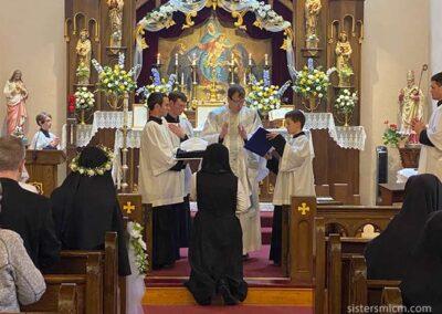 Postulant become Novice