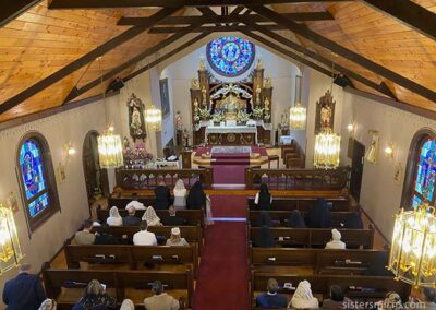 IHM Chapel on the Feastday
